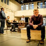 Company in rehearsal for Limehouse at the Donmar Warehouse © Jack Sain 2017