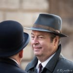 Roger Allam on the set of Endeavour series V © Natalia Kutsepova, September 2017