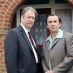 Roger Allam and Phil Daniels as Fred and Charlie Thursday in Endeavour © Mammothscreen 2018