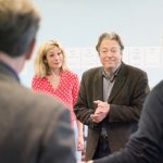 Nancy Carroll and Roger Allam in rehearsal for The Moderate Soprano at the Duke of York's Theatre © Johan Perrson, 2018