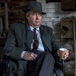 Roger Allam on the set of Endeavour VI © Dan Kleinman @ Third Eye Deer