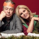 Roger Allam and Joanna Lumley in The Christmas Eve special of Conversations From A Long Marriage © Radio 4, @2018