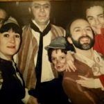 Members of the original Les Mis London cast. Picture by Jo Harris and Rebecca Caine