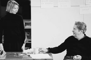 Polly Findlay and Roger Allam – A Number rehearsal photos by Johan Persson, 2020