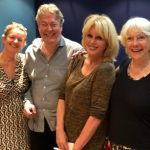Claire Jones, Roger Allam, Joanna Lumley and Jan Etherington © Jan Etherington, 2019