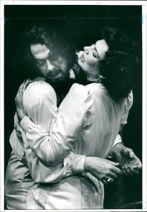 Susan Fleetwood and Roger Allam in The Seagull © Alassair Muir, 1990