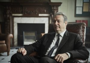 Roger Allam in Endeavour series VII © Mammoth Screen, 2020